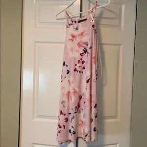 Ivanka trump pink floral dress.